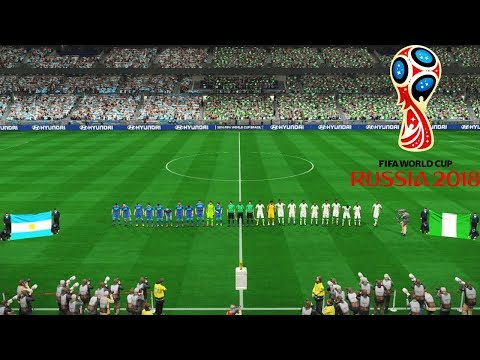 Argentina vs Nigeria FINAL | FIFA World Cup 2018 Russia | Full Match Pes Gameplay PC