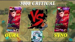 1 VS 1 CHOU SAMA SYNO , DEMAGENYA SAMPAI 3000 !!