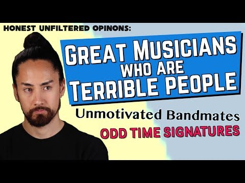 Great Musicians Who Are Terrible People | Honest UnFiltered Opinions #7