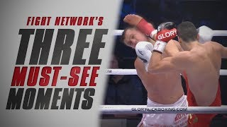 Referee Couldn't Stop This One at GLORY 49 Rotterdam | Top 3 Must-See Moments