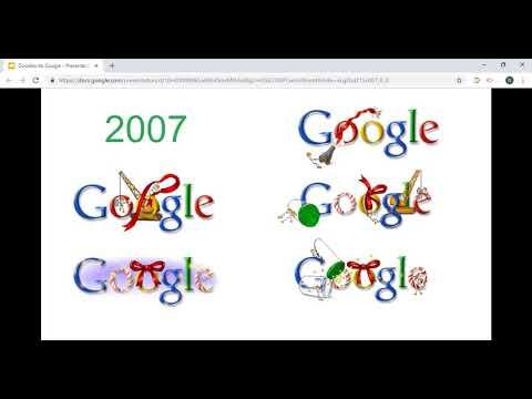 Felices fiestas: Google te desea Feliz Navidad con este doodle