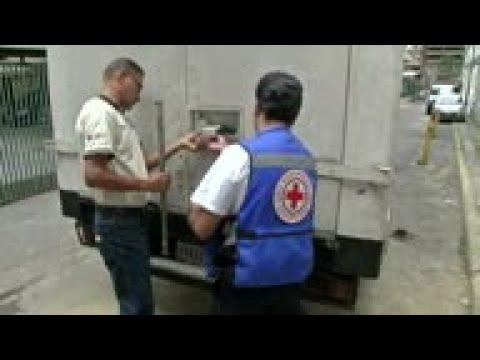 Comienza distribución de ayuda humanitaria en Venzuela
