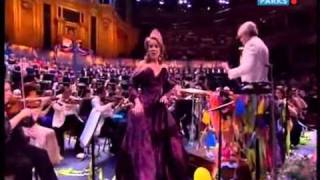 Renée Fleming sings Rule Britannia - Last Night of the Proms 2010