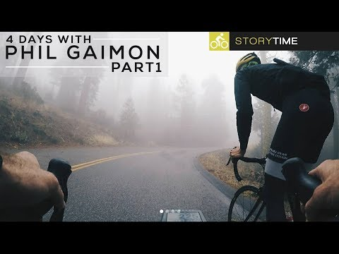 4 Days Of Cycling With Phil Gaimon (Fog, Mud, and a KOM ) FULL STORY Part 1