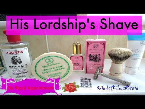 His Lordship's Shave