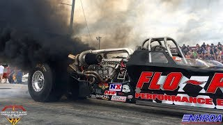 THE BADDEST DIESELS ON THE PLANET, TOP DIESEL DRAGSTERS THOROUGHBRED THROWDOWN