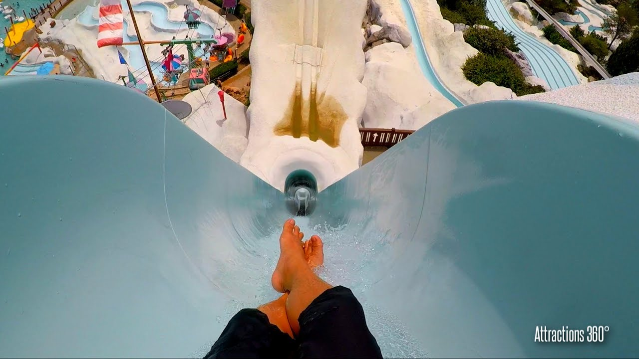 Hd Summit Plummet 120 Feet Tall Free Fall Body Water Slide