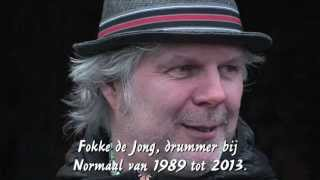 Fokke de Jong neemt afscheid als de drummer van Normaal.
