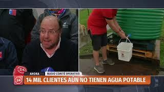 Corte de Agua en Osorno: Este domingo a las 08.00 estará restablecido en su totalidad el suministro