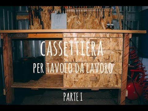 Costruire Cassettiera In Legno.Come Costruire Una Cassettiera Per Banco Da Lavoro Part 1