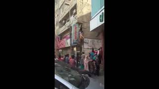 Video footage  s e x worker running away during FIA raid in karachi