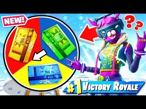 CUSTOM Wheel of VENDING MACHINES *NEW* Game Mode in Fortnite Battle Royale thumbnail