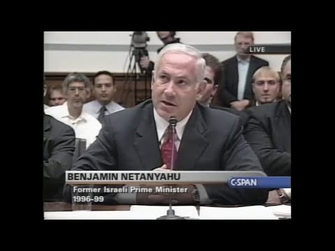 2002: Netanyahu promotes Iraq War for 2+ hours