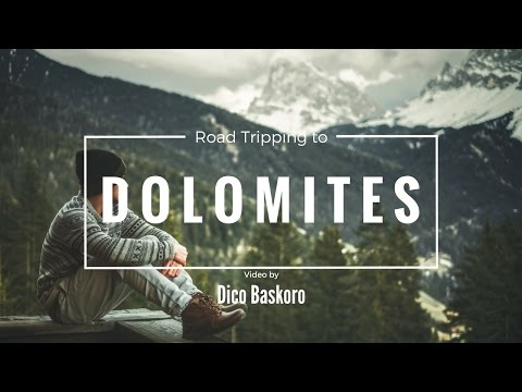 Roadtripping to Dolomites - Italy (Cinematic)