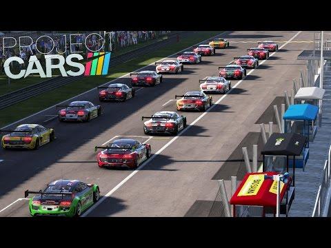 Project CARS Multiplayer - CRAZY ONLINE RACE, Barcelona, McLaren MP4 12c GT3