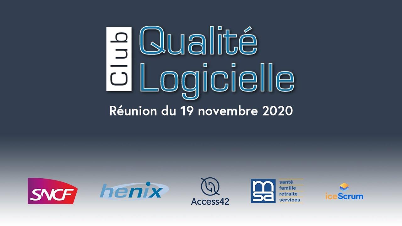 Club Qualité Logicielle - Usine logicielle et outillage Open Source pour le test continu et agile