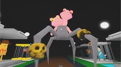NEW OBLOX PIGGY BOS SPIDER  JUMPSCARE