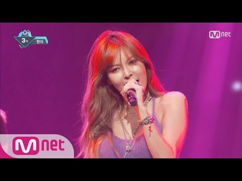 [HyunA - How's this?] KPOP TV Show | M COUNTDOWN 160818 EP.489
