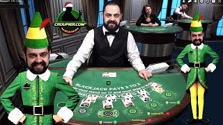 ONLINE BLACKJACK DEALER CEZAR vs £2,000 BANKROLL SIDE BETS and LIVE ROULETTE Mr Green Online Casino!