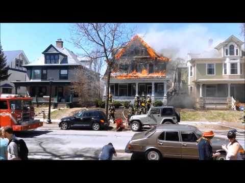 Structure Fire with Radio - Minneapolis - 4/29/13 Part 2