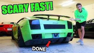 Our Twin Turbo Lamborghini Gallardo Is DONE! First Full Throttle PULLS!