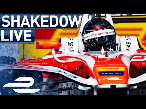 Shakedown - From Berlin Pit Lane - 2017 FIA Formula E Berlin ePrix