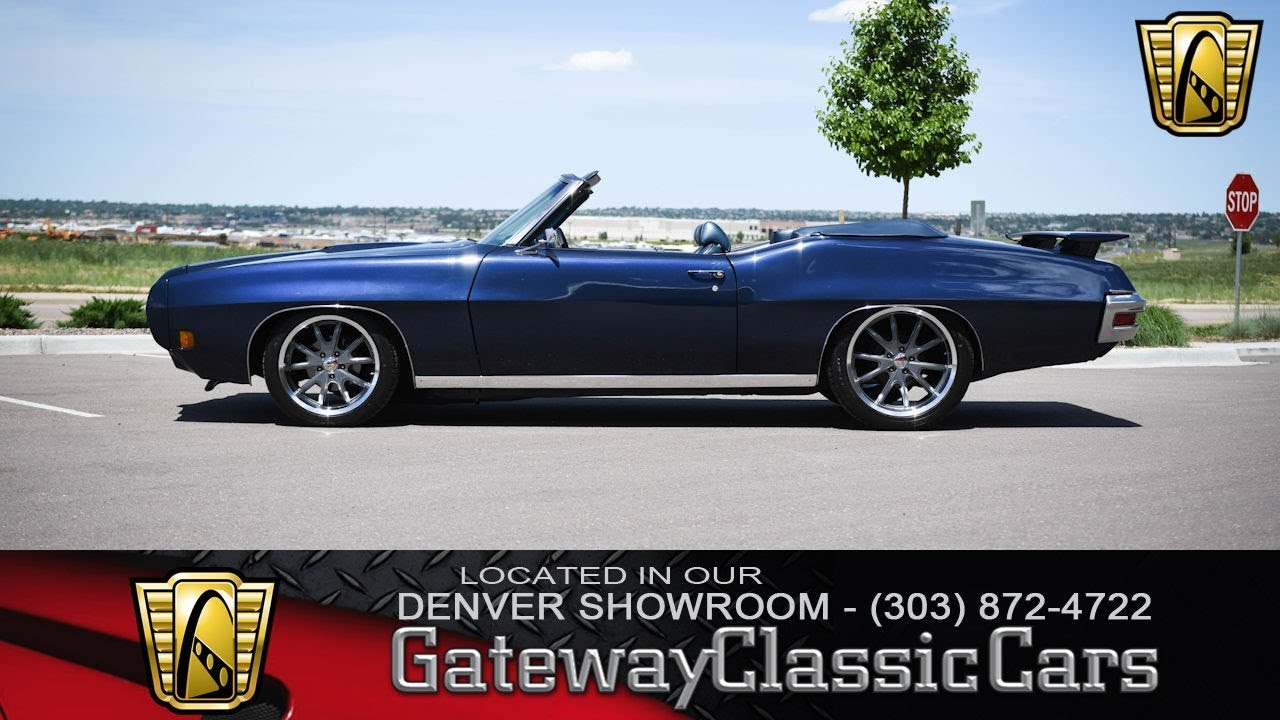 hight resolution of 1970 pontiac lemans convertible denver location 300 gateway classic cars