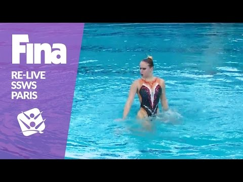 RE-LIVE | Free Solo Prelim - Paris | FINA Synchronised Swimming World Series 2017