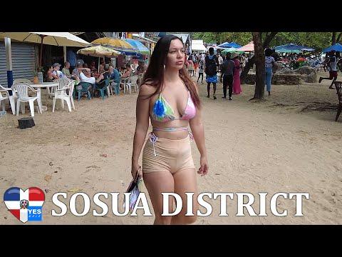 SOSUA DISTRICT DAY \u0026 NIGHT DOMINICAN REPUBLIC MAY 2021 [FULL TOUR]
