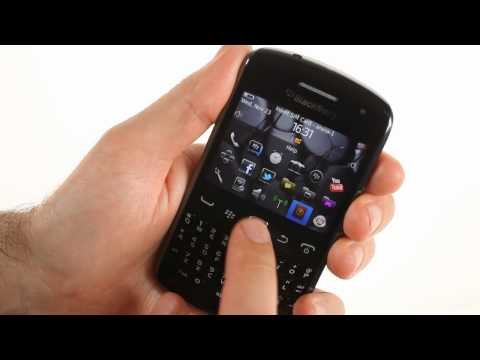 Unboxing the BlackBerry Curve 9360