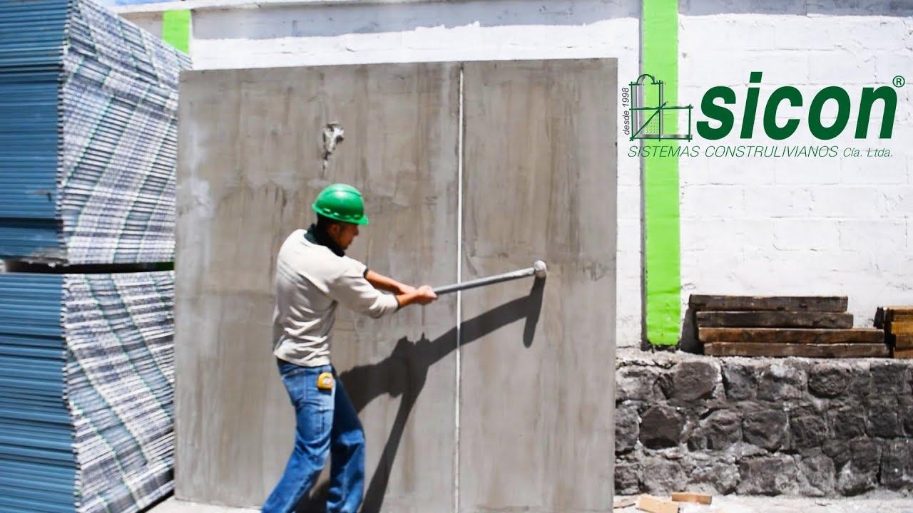 Como instalar paredes de exterior de gypsum youtube - Revestir pared exterior ...