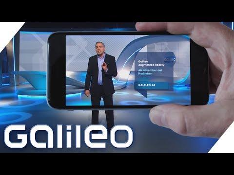 """Mit """"Galileo"""" über einem 400 Meter tiefen Canyon schaukeln: ProSieben startet am 6. November die erste Augmented-Reality-Woche im deutschen TV"""