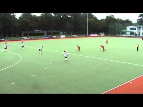 Cupspiel: Post SV Wien - Landhockey  gegen Hockey Club Wien