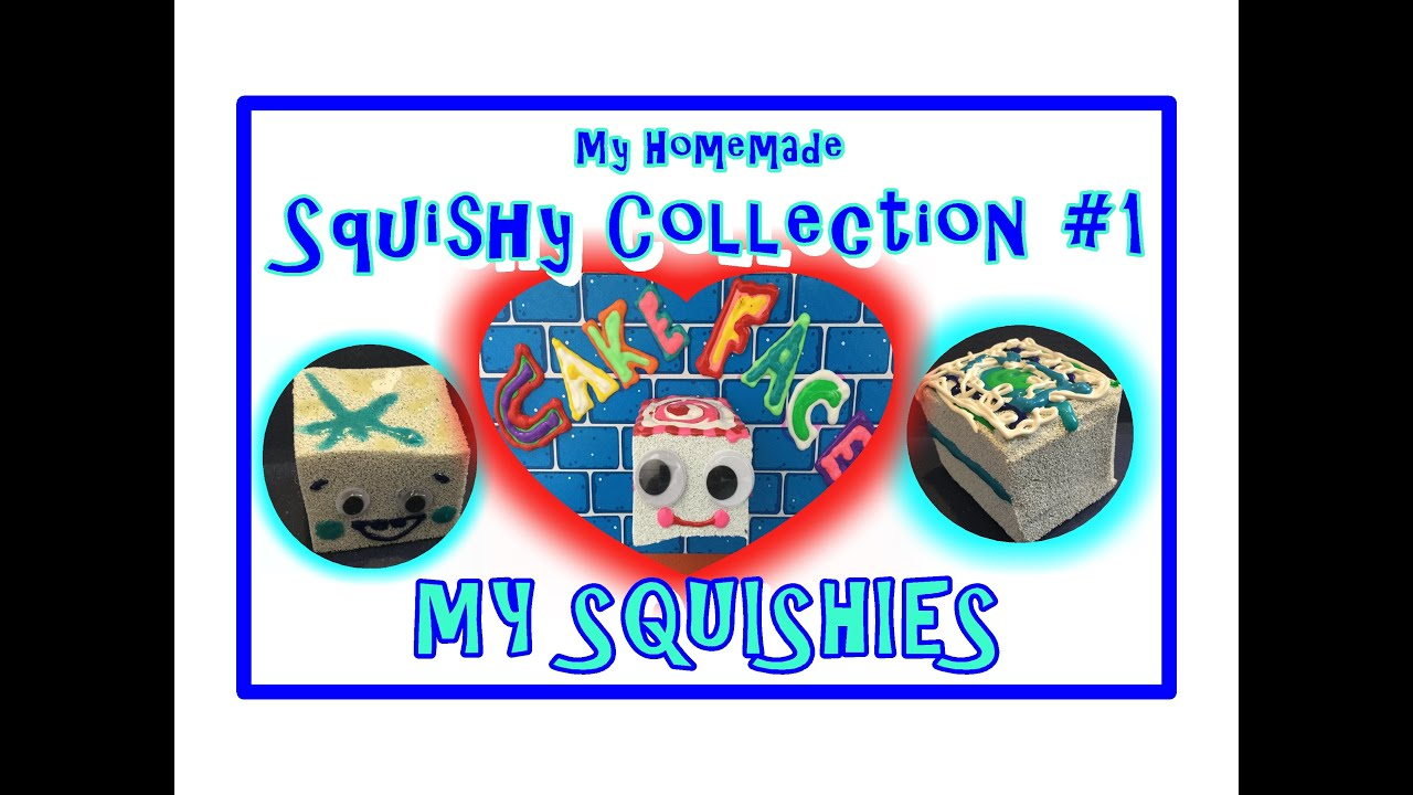 DIY Homemade Squishies #1~ Cool Ice Cubes - YouTube