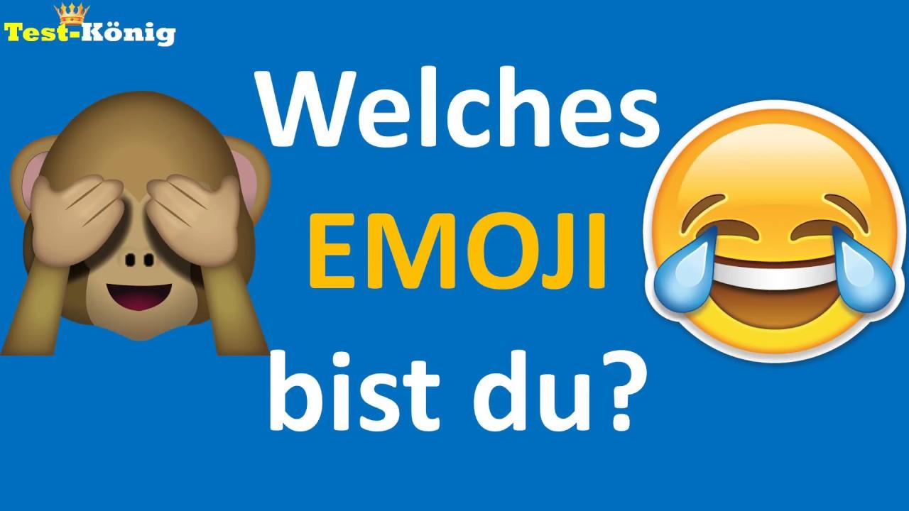 Welches emoji bist du
