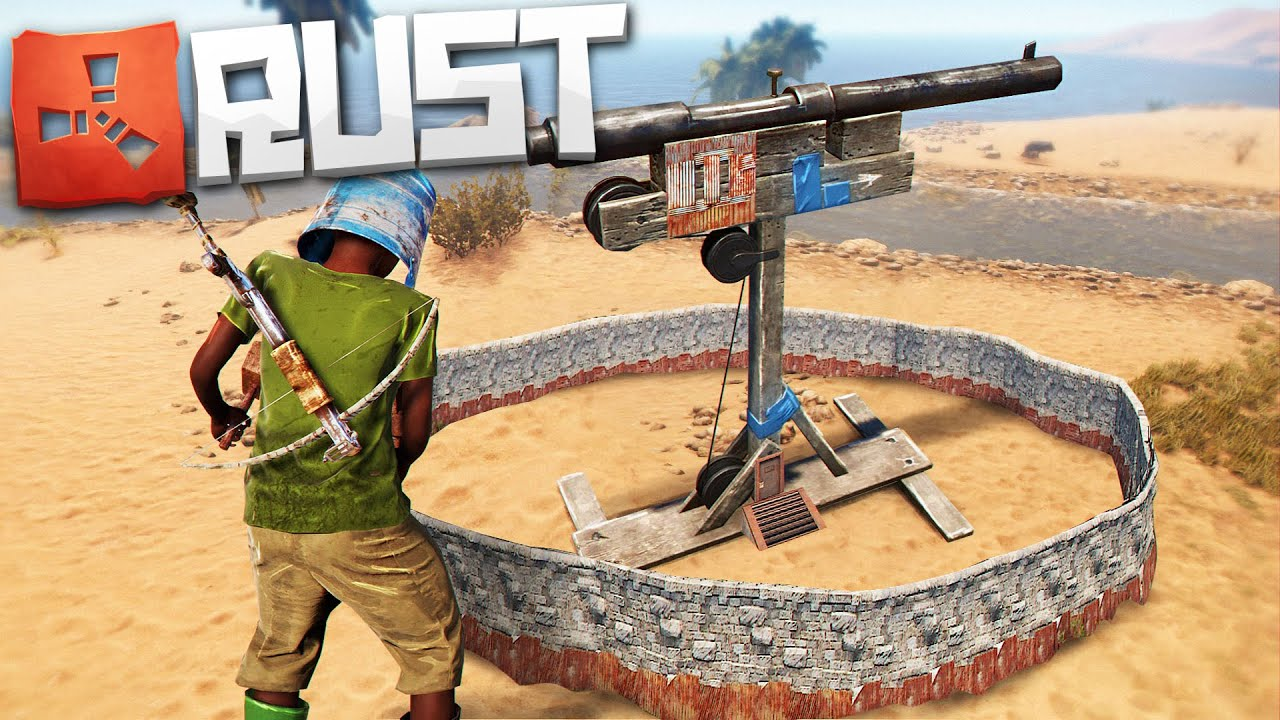 Рейд Маленькой Ловушки С Кучей Ресурсов Внутри! (Новый Раст | New Rust)