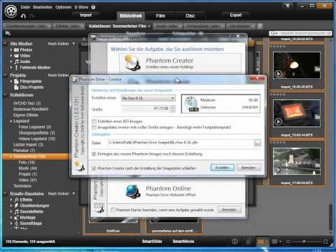 Projekte archivieren und sichern in Avid studio und Pinnacle Studio