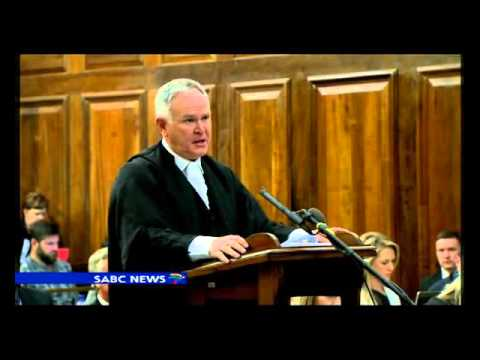 Barry Roux at the Supreme Court of Appeal