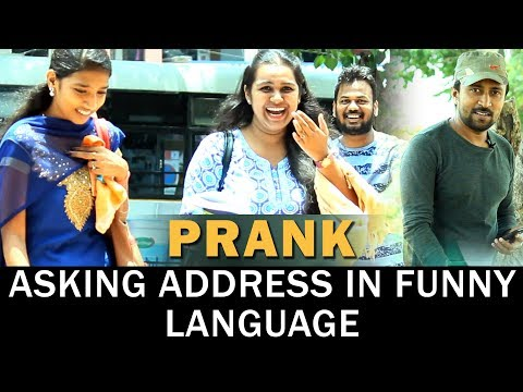 Asking Address In Funny Language Prank | Pranks In India | Pranks In Hyderabad | FunPataka