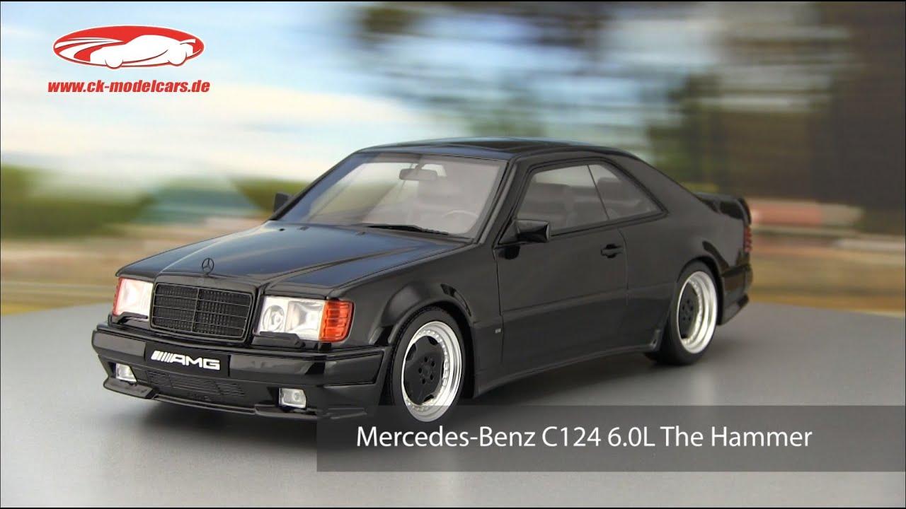 Ck modelcars video mercedes benz c124 6 0l the hammer for Mercedes benz hammer
