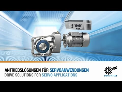 Producthighlight: Drive solutions for servo applications | NORD DRIVESYSTEMS Group