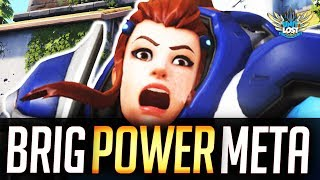 Overwatch - Brigitte META POWER! Triple Support OP?!