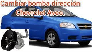 direcci/ón hidr/áulica para Aveo Kalos Hatchback T200 T250 T255 Kalos KLAS 2002-2005 96535224 Bomba de servo