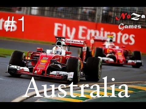 F1 2016 Coop #1 Australia - Knappes Ding in Australien[Xbox One]