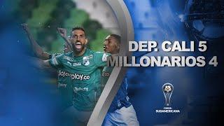 Deportivo Cali vs. Millonarios [1-2] (5-4) | RESUMEN | Segunda Fase | CONMEBOL Sudamericana