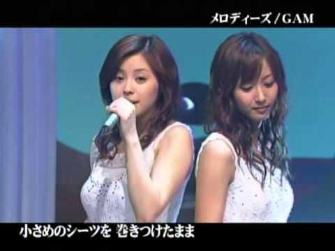 "GAM: Aya and Miki sing ""Melodies"" in the studio"
