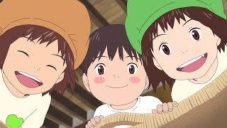 「未来のミライ」×「GREEN DA・KA・RA」コラボCM公開 グリーンダカラちゃんがアニメキャラに