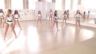 Pole choreography by Galina Musina