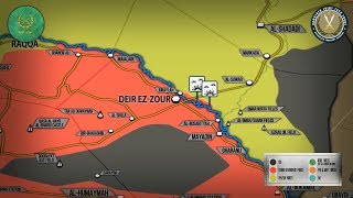 9 февраля 2018. Военная обстановка в Сирии. США заявляют о гибели свыше 100 бойцов сил Асада.