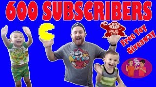 600 SUBSCRIBERS FREE TOY GIVEAWAY THUMB UPPERS DRAW THE WINNERS, PAW PATROL, AVENGERS, ROBLOX